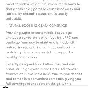 bareMinerals Makeup - Cinnamon25)Bareminerals Bare PRO Powder Foundation
